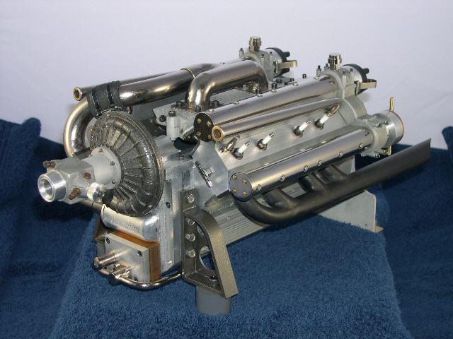 1 25th scale novi engine open wheel racing modeling