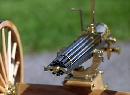 old gatling gun 