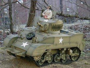 1/6 Stuart tank